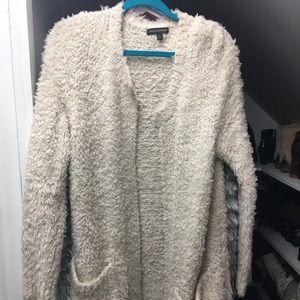 Banana Republic shag sweater jacket